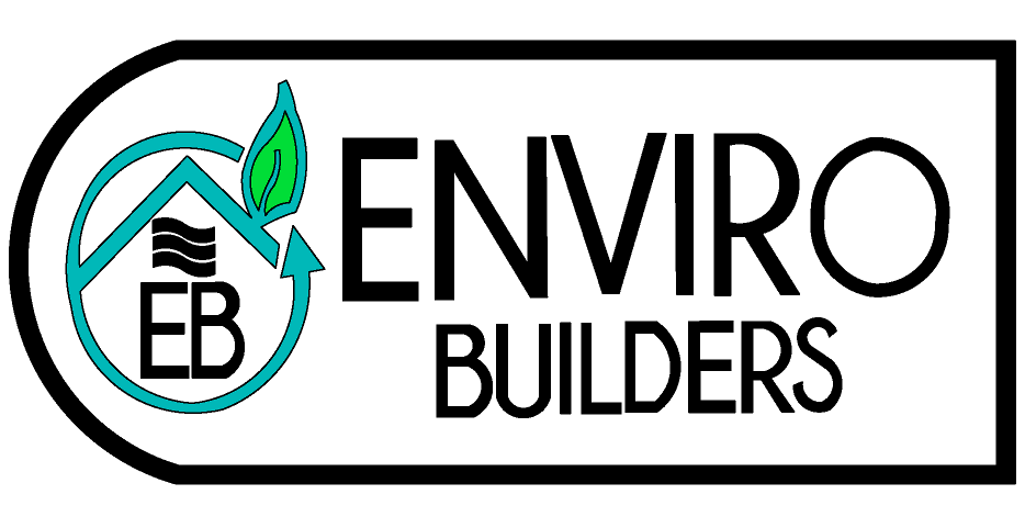 Logo. Enviro Builders, LLC. Eco Friendly Building Materials. SmartSteel Provider.